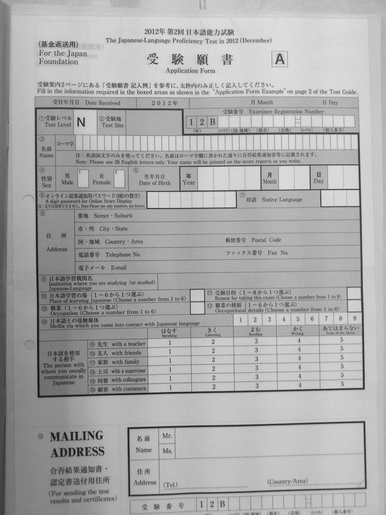 Đăng ký thi JLPT tại VN - Cuộc sống du học Nhật Bản Yurika
