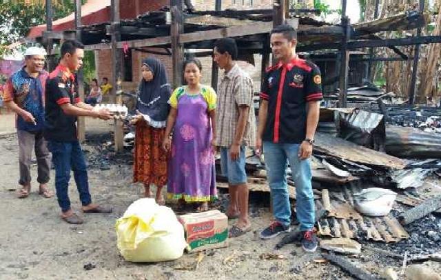 YSMC Peduli  Korban Kebakaran di Pallantikang Maros Baru
