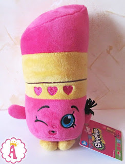 Плюшевая помада Shopkins Lippy Lips soft toy