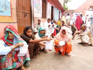 Medical camp in harsana laxmanghar alwar by ashoka foundation