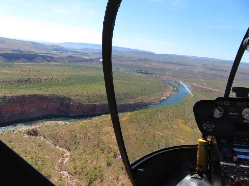 El Questro from above