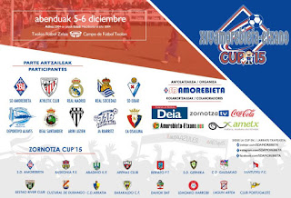 El Alevín participará en la Zornotza Cup 2016