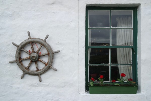 écosse highlands île mull ulva randonnée boathouse