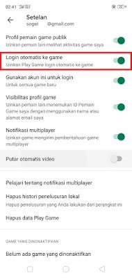 Login Otomatis Play Games