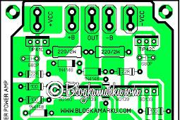 Pioneer amplifier vintage PCB Layout Clone