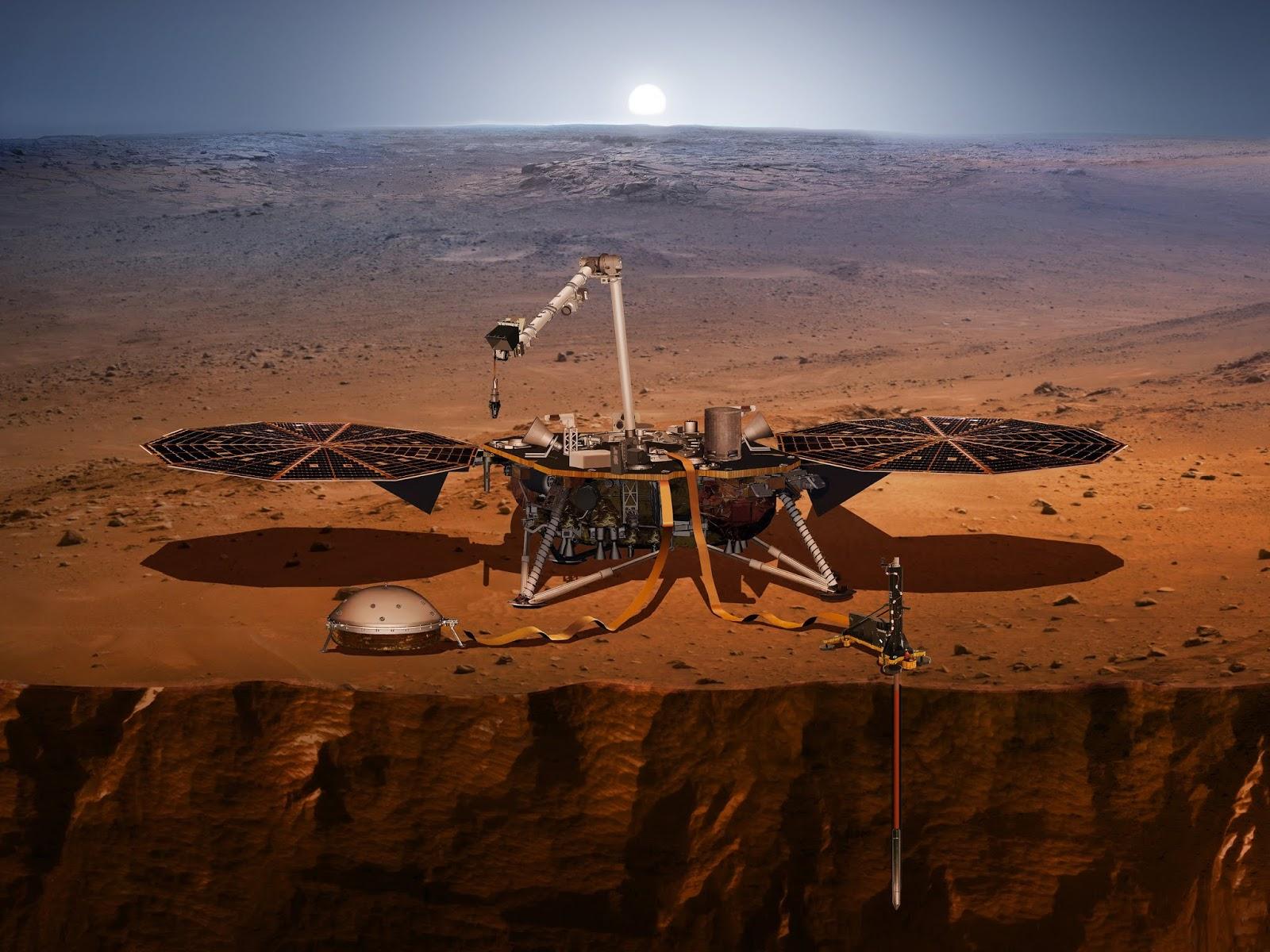 1st Sounds Of Martian Wind Captured By New NASA Lander