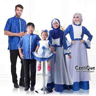 baju lebaran keluarga dian pelangi