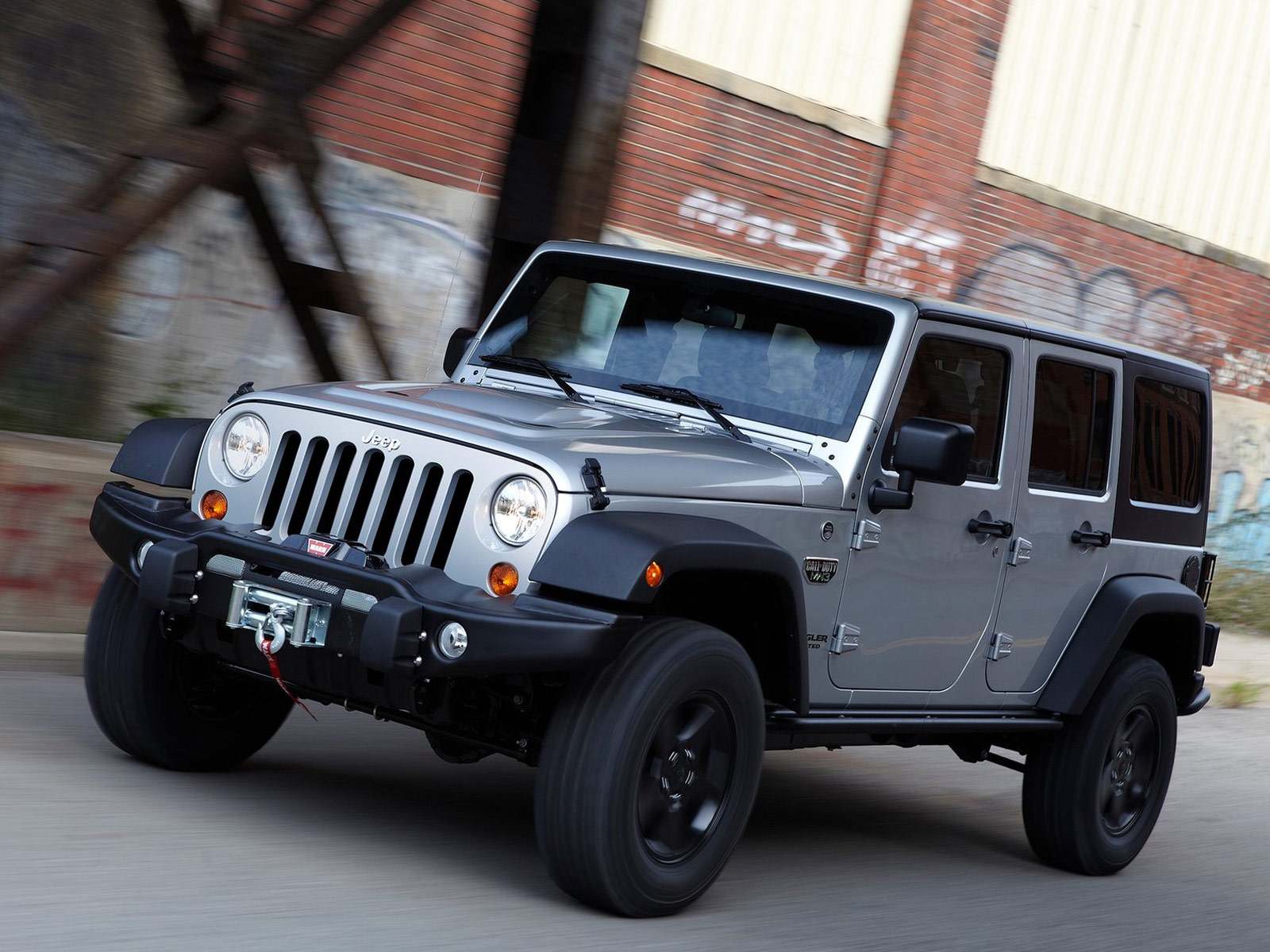 2012 Jeep Wrangler Call Of Duty Mw3 Pictures