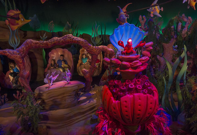 Under the Sea no Magic Kingdom em Orlando