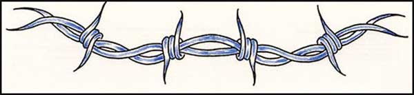 Barbed Wire Tattoo Designs: Arm Tattoos And Design