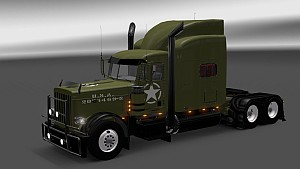 American WW2 Style for Peterbilt 389