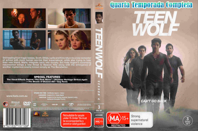Série Teen Wolf 4º Temporada DVD Capa