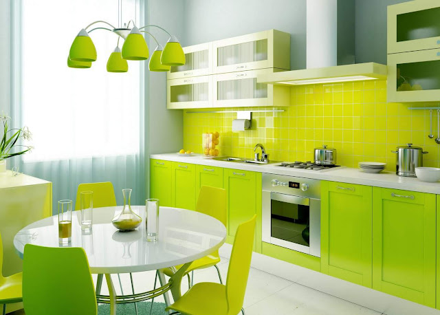Kitchen Design and Simple Dining Room
