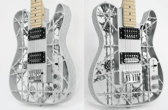 Crean la primera guitarra de  impresión 3D