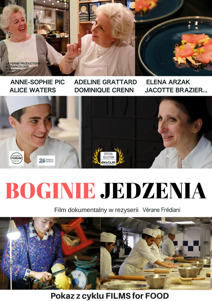 boginie jedzenia, films for food, kino agrafka, kobiety w gastronomi, film kulinarny, film o kuchni, film o gastronomi,blog, zycie od kuchni