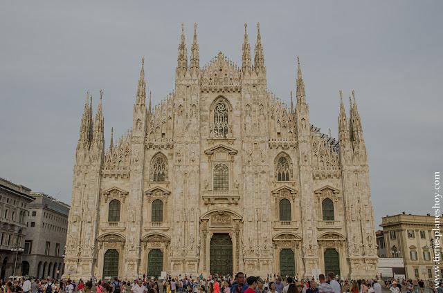 Catedral Milán Duomo viaje Italia