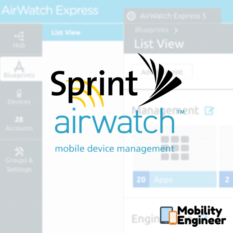 Sprint and VMware partnership - MobilityEngineer com
