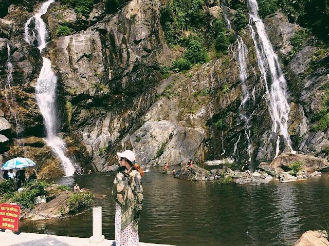 Exploring beautiful waterfalls in Quang Ngai 8