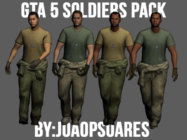 skin soldado do gta v para gta sa