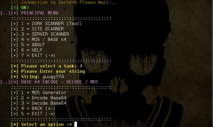 ATSCAN - Server, Site and Dork Scanner