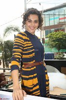 Taapsee Pannu looks super cute at United colors of Benetton standalone store launch at Banjara Hills ~  Exclusive Celebrities Galleries 013.JPG