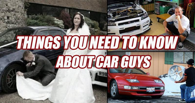 THINGS YOU NEED TO KNOW ABOUT CAR GUYS