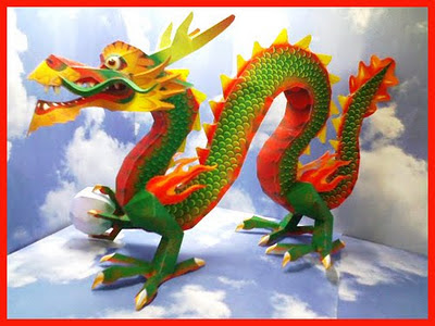 Dragon Art Of Asia 2012 Year Of The Dragon Papercraft Canon