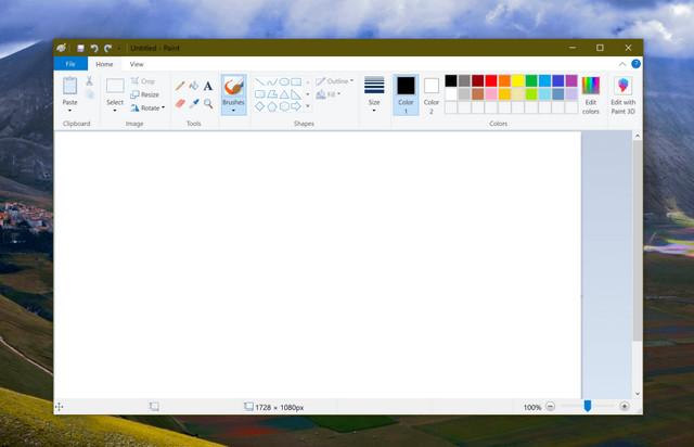 تعرف علي مزايا برنامج الرسام الجديدة القادمة في تحديث ويندوز 10