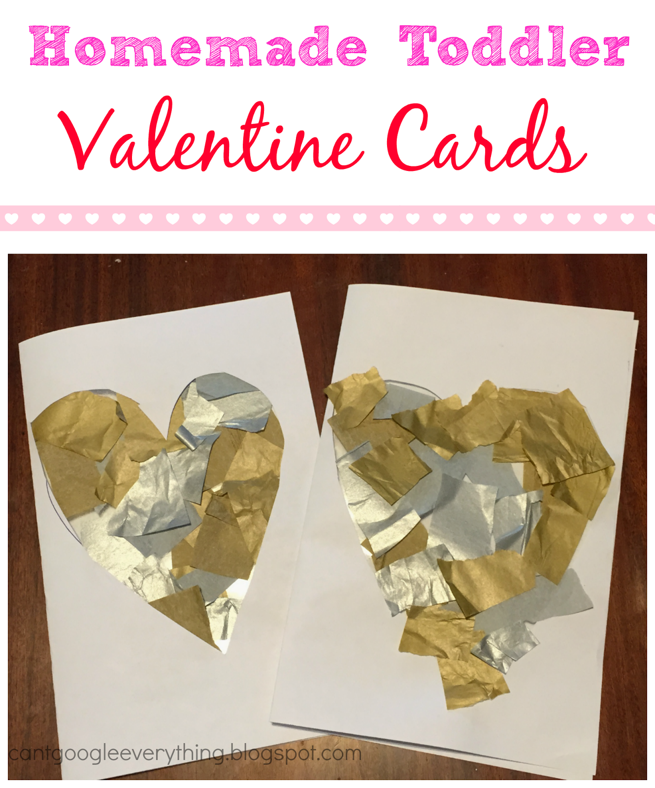 Easy Toddler Valentine Cards My Mini Adventurer – Toddler Valentine Cards