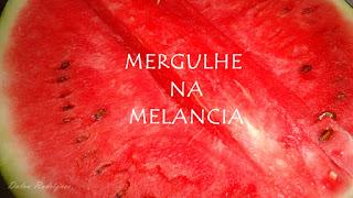 saborear melancia