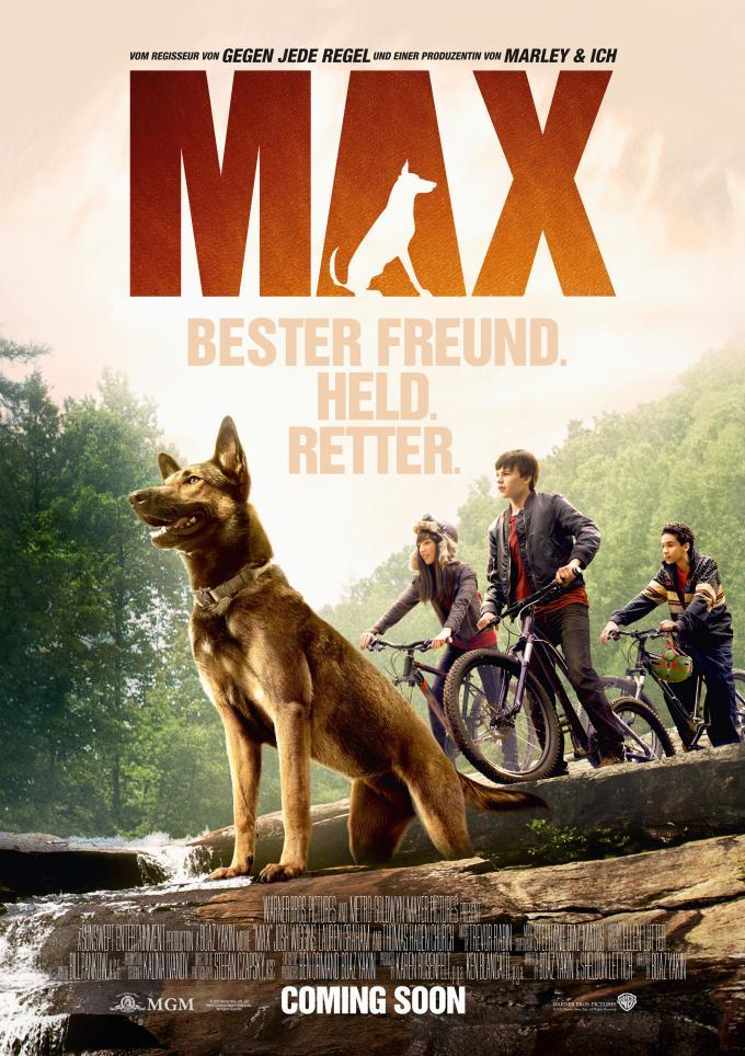 Max แม็กซ์ สี่ขาผู้กล้าหาญ [HD][พากย์ไทย]