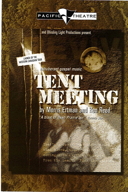 Pacific Theatre 'Tent Meeting' Poster Design