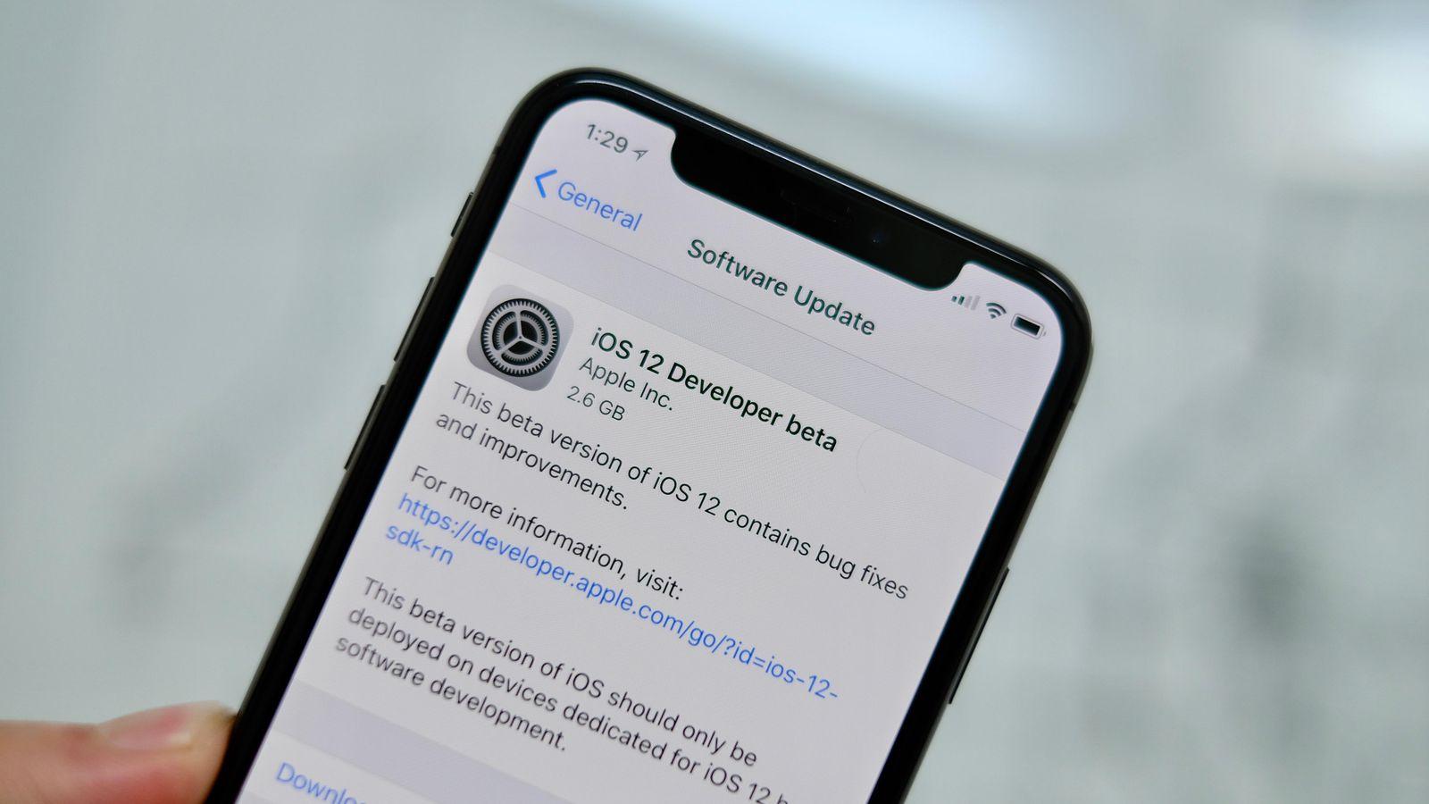 Download iOS 12 Developer Beta 2 without developer account | MyMobileTips