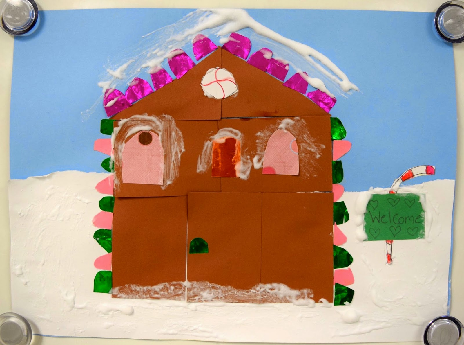 Gingerbread houses 1st