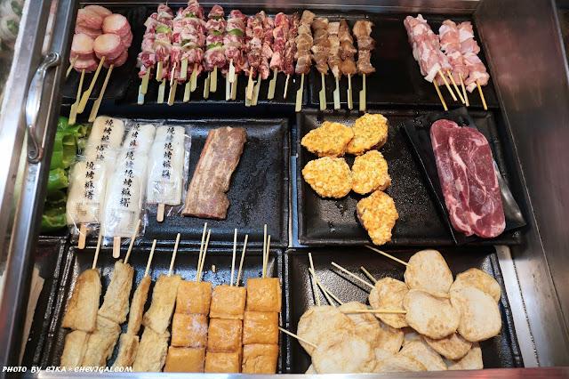 IMG 9516 - 台中西屯│炭燒烤,中科也有平價的仿日式推車燒烤!調味偏清爽,不用再加醬料就很剛好~