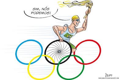 São gigantes d'alma os atletas paralímpicos.