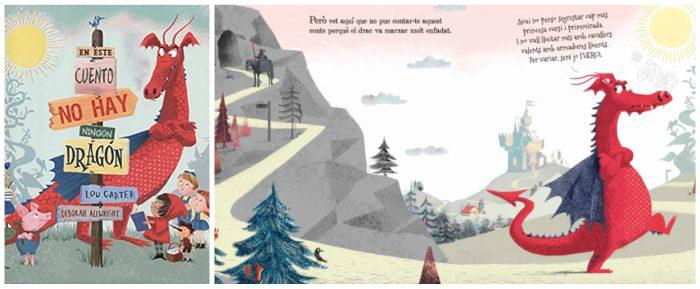 mejores cuentos infantiles 3 a 5 años, libros recomendados en este cuento no hay ningun dragon