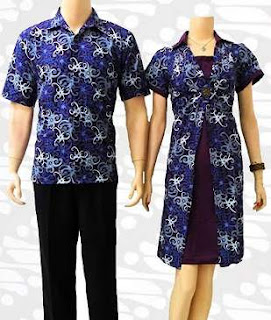 model baju batik modern pekalongan