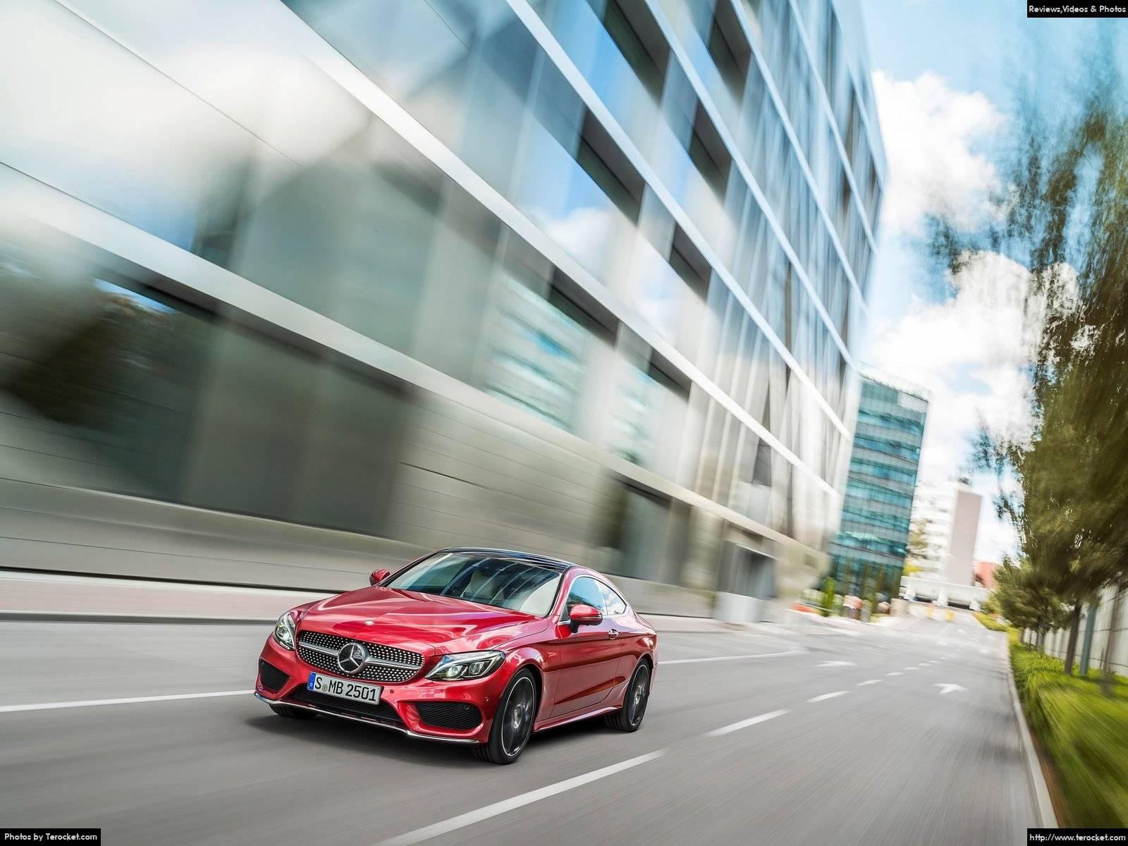 Hình ảnh xe ô tô Mercedes-Benz C-Class Coupe 2017 & nội ngoại thất