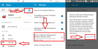 Cara Mudah Backup Dan Restore Chat (Obrolan) Di Aplikasi BBM Android