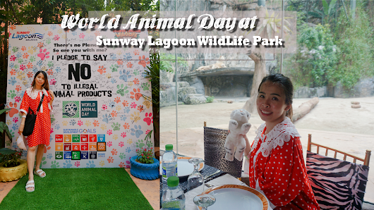 4th October World Animal Day at Sunway Lagoon WildLife Park