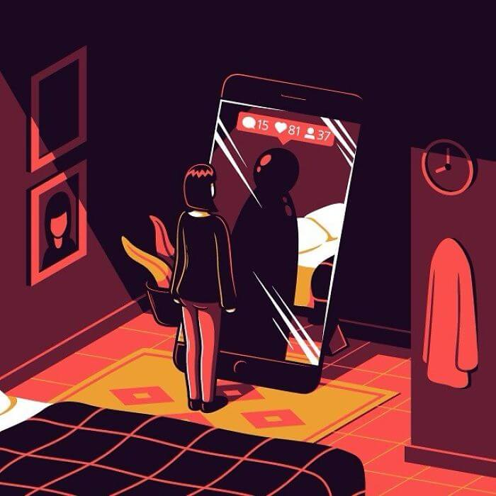 Thought-Provoking Illustrations By Elia Colombo That Are Not Too Easy To Understand