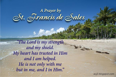 St. Francis de Sales prayer