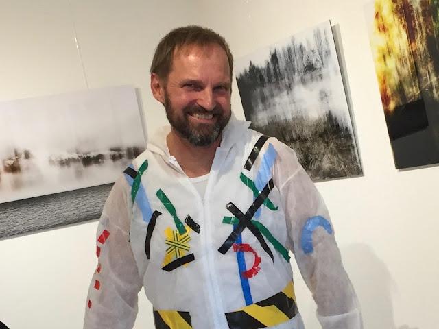 Der Künstler Thorsten Fuhrmann aus Huglfing