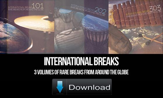 101 International Drum Breaks (Download)