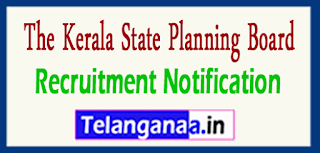 The Kerala State Planning Board Recruitment Notification 2017 Last Date 25-05-2017