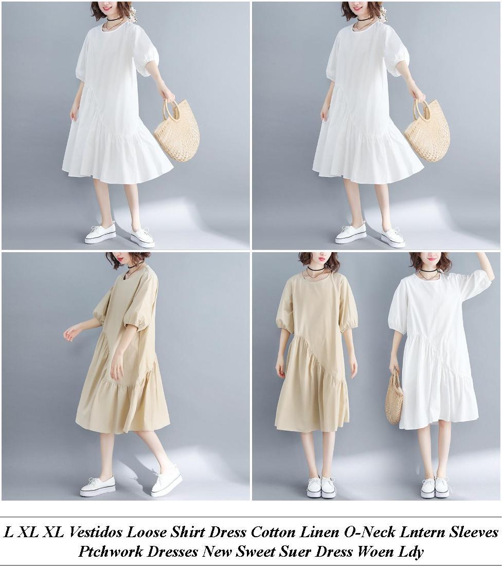 Short Prom Dresses - Clearance Clothing Sale - Denim Dress - Cheap Summer Clothes