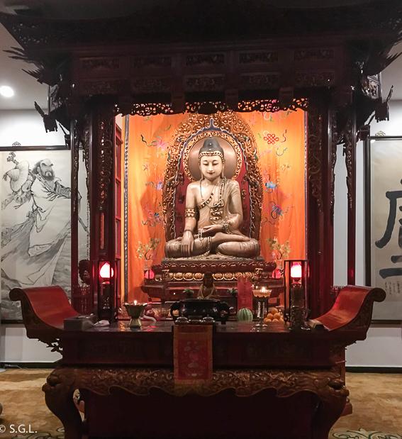 Cámara del Buda de Jade. Shanghai