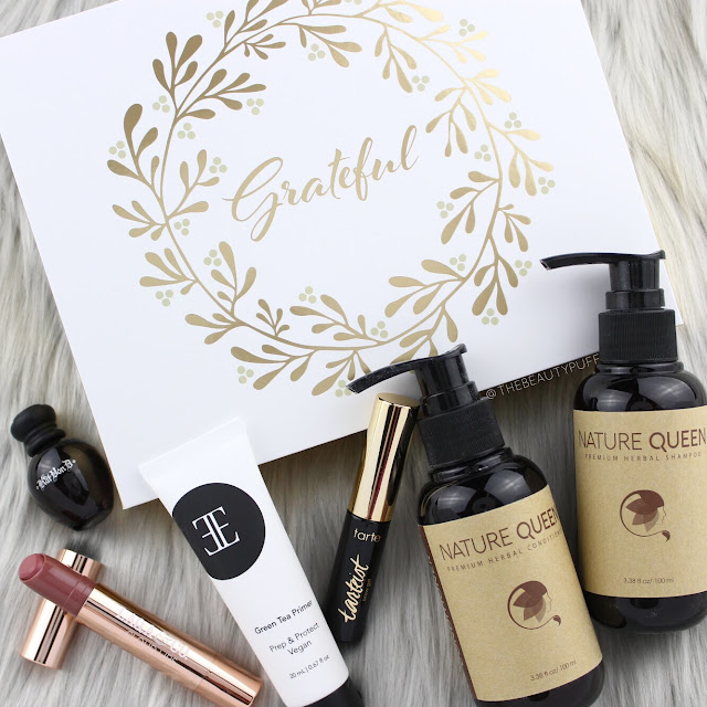Glossybox November 2017  |  The Beauty Puff
