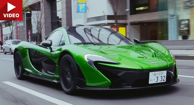 This McLaren P1 Serves As A Tokyo Lawyer's Daily Driver